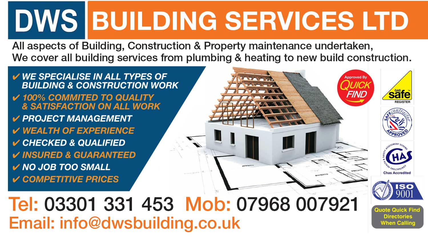 DWS Building Services Ltd