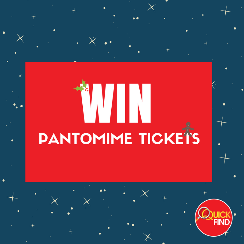 PRIZE DRAW! Win Pantomime Tickets