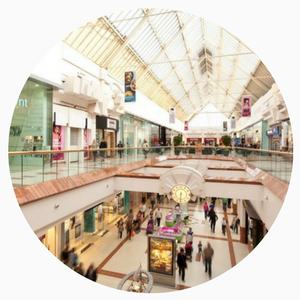 Free Days Out for Rainy Days in and around Birmingham picture of Merry Hill Shopping Centre