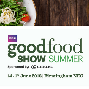 To celebrate summer 2018, we're holding a competition for two lucky winners to attend the Good Food Show at the NEC, Birmingham on Saturday 16th June 2018.
