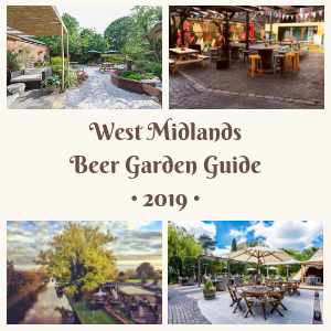 West Midlands Beer Garden Guide 2019