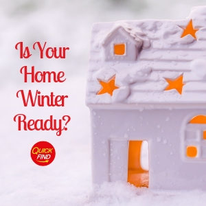 Preparing your home for winter weather