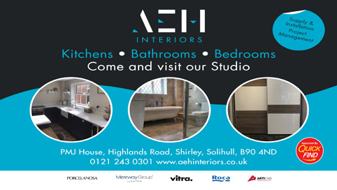 AEH Interiors Kitchens, Bathrooms, Bedrooms a Quick Find Directories Local Trusted Trader