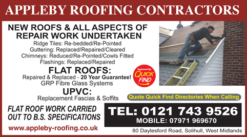Appleby Roofing Contractors
