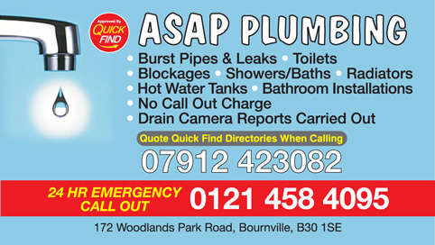ASAP Plumbing & Bathrooms