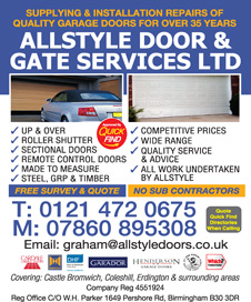 Allstyle Door & Gate Services