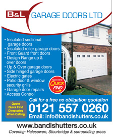 B&L Garage Doors Ltd