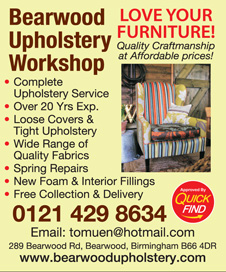 Bearwood Upholstery Workshop