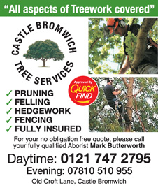 Castle Bromwich Tree Services