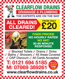Clearflow Drains