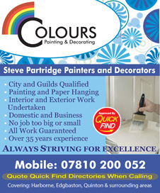 Colours Painting and Decorating