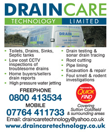 Draincare Technology Limited