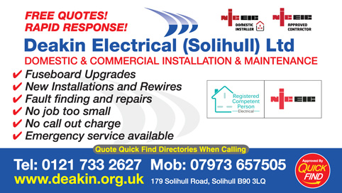 Deakin Electrical (Solihull) Ltd