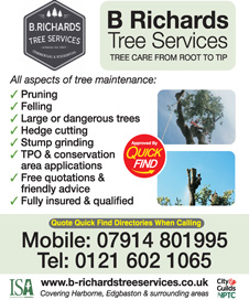 B Richards Tree Services