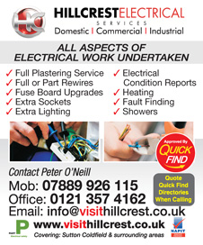 Hillcrest Electrical Services
