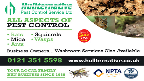 Hullternative Pest Control Service Ltd
