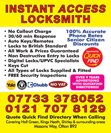 Instant Access Locksmith