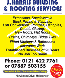 J Harris Building & Roofing Services