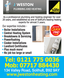 J Weston Plumbing and Heating