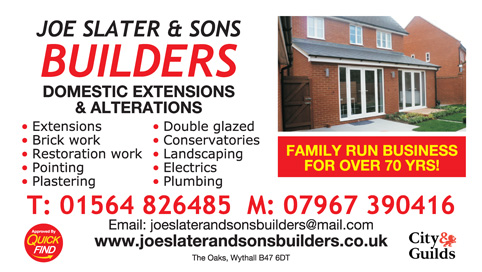 Joe Slater & Sons Builders