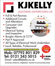 KJ Kelly Electrical
