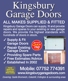 Kingsbury Garage Doors