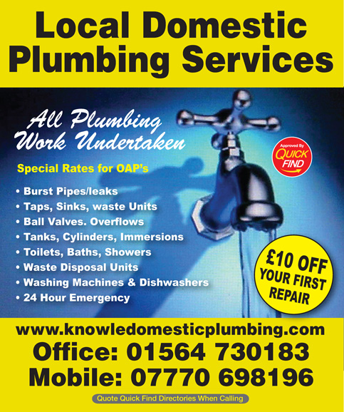 Local Domestic Plumbing Services