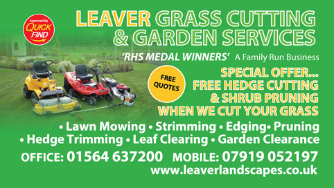 Leaver Grass Cutting & Garden Services