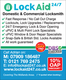 LockAid 24/7 Birmingham