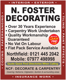 N Foster Decorating
