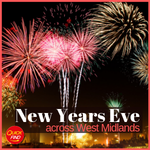New Year's Eve Firework Events West Midlands 2018