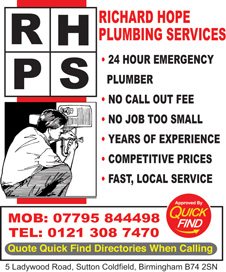 RHPS Richard Hope Plumbing Services