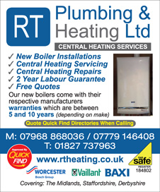 RT Plumbing & Heating Ltd