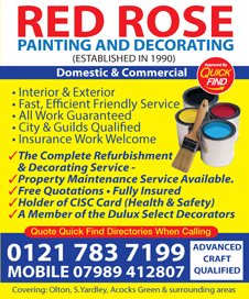 Red Rose Painting and Decorating