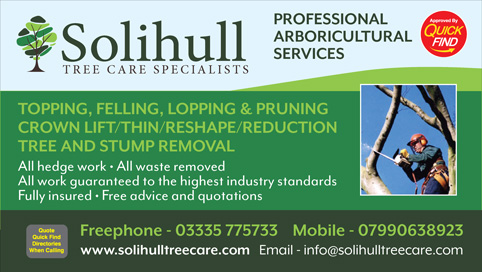Solihull Tree Care Specialists