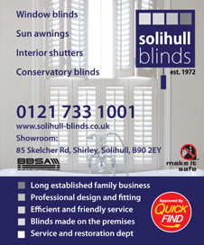 Solihull Blinds