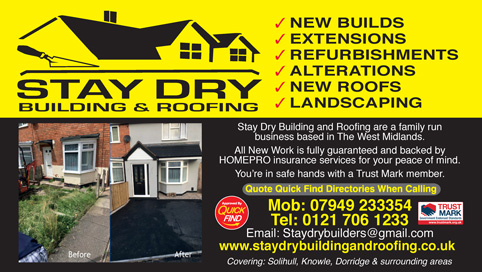 Stay Dry Building & Roofing