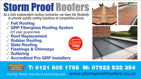 Storm Proof Roofers