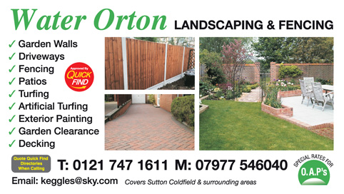 Water Orton Landscaping & Fencing
