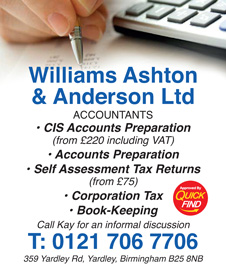 Williams Ashton & Anderson Ltd