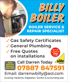 Billy Boiler Services and Repairs