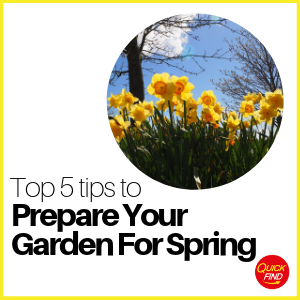 Top 5 Tips to Prepare Your Garden for Spring