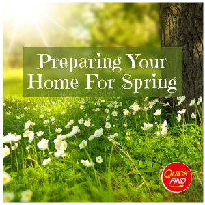 Preparing Your Home For Spring - Winter Home Maintenance