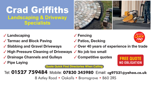 Crad Griffiths Driveway & Landscaping Specialists