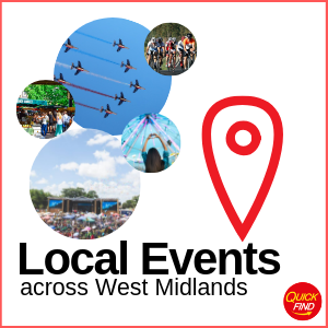Local Events across West Midlands
