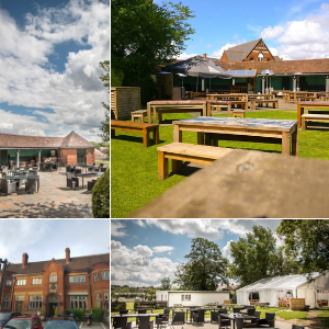 The British Oak Stirchley Birmingham Beer Garden