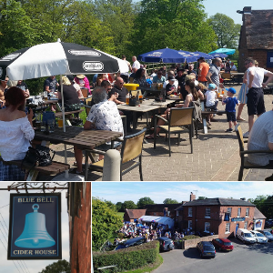 Blue Bell Cider House Stratford upon Avon Beer Garden