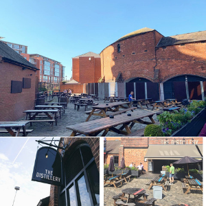 The Distillery Birmingham Beer Garden