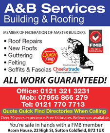 A&B Roofing & Building Services