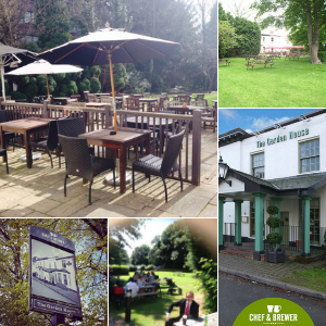 The Garden House Beer Garden in Edgbast